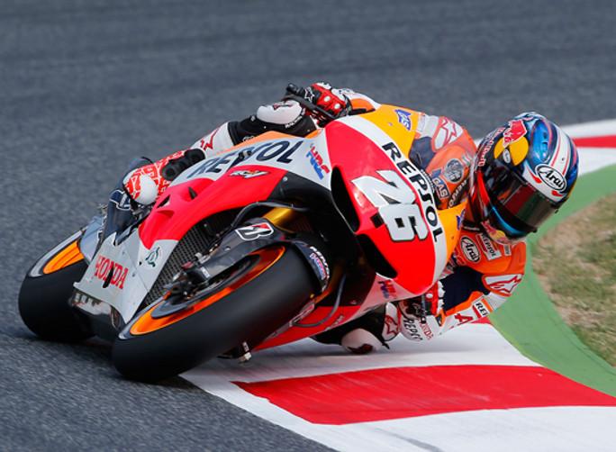 """MotoGP Barcellona, Prove Libere: Dani Pedrosa: """"Oggi ho lavorato sulle gomme"""""""