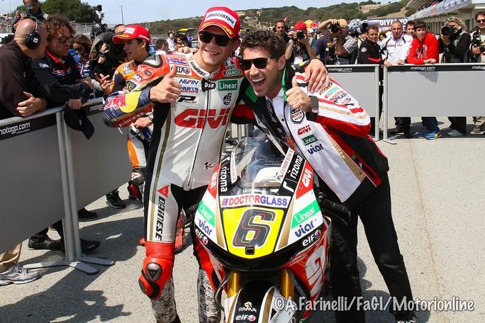 "MotoGP Laguna Seca: Stefan Bradl ""Fare la pole è una sensazione incredibile!"""