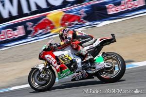 MotoGP Laguna Seca, Warm Up: Stefan Bradl davanti a Marquez e Lorenzo