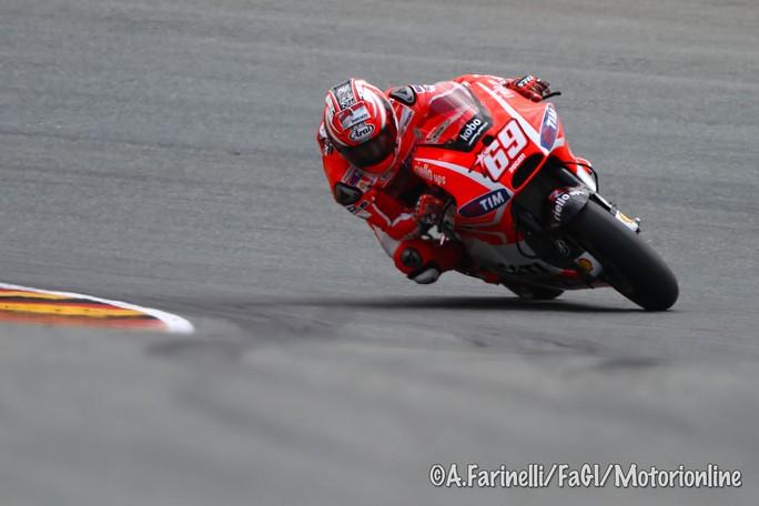 """MotoGP Sachsenring: Nicky Hayden """"Siamo in seconda fila, ma bisogna anche dire che mancavano Lorenzo e Pedrosa"""""""