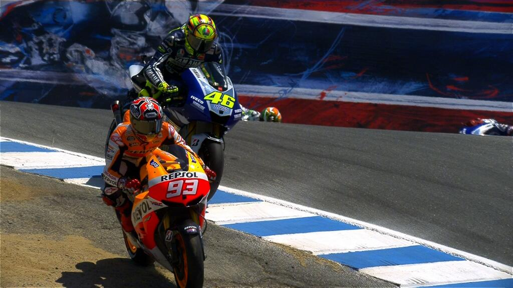 MotoGP Laguna Seca: Marquez Show! Sorpasso su Rossi al cavatappi e mini-fuga mondiale