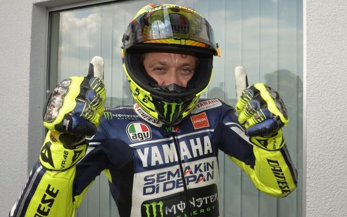 """MotoGP Sachsenring: Valentino Rossi """"Sono molto contento, la prima fila mancava da troppo tempo"""""""