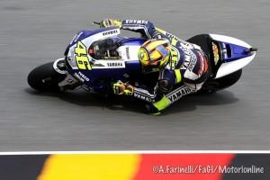 MotoGP Sachsenring, Prove Libere 4: Valentino Rossi davanti a Bradl e Marquez