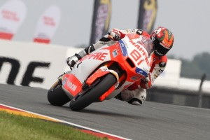 Moto2 Sachsenring, Warm Up: Torres davanti a Corsi e Pol Espargarò