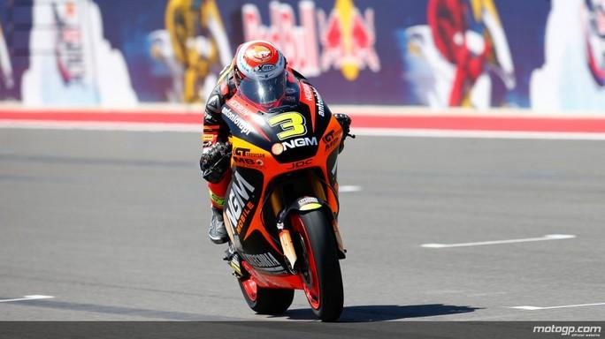 Moto2 Indianapolis, Prove Libere 2: Uno strepitoso Simone Corsi centra il miglior tempo