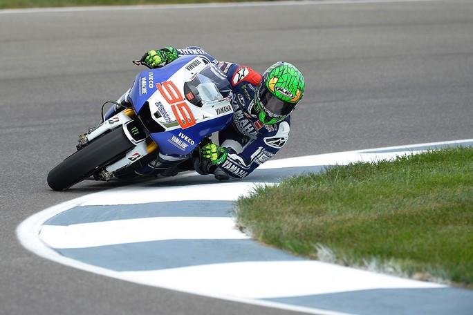 """MotoGP Indianapolis: Jorge Lorenzo """"La clavicola non mi ha dato particolari problemi in questa prima giornata"""""""
