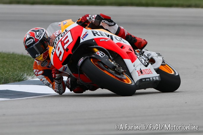MotoGP Indianapolis, Prove Libere 3: Marquez continua ad essere al Top, bene Bradl e Crutchlow