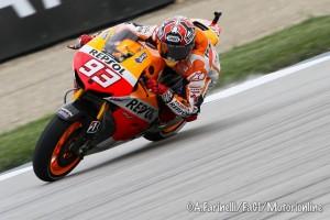 MotoGP Indianapolis, Prove Libere 4: Marquez senza avversari