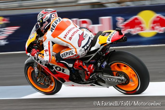 """MotoGP Indianapolis, Qualifiche 2: Marquez il """"cannibale"""", pole e record della pista"""
