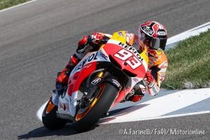 MotoGP Indianapolis: Marquez fa suo anche il Warm Up