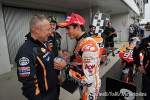MotoGP Brno: Parola a Marquez, Pedrosa e Lorenzo