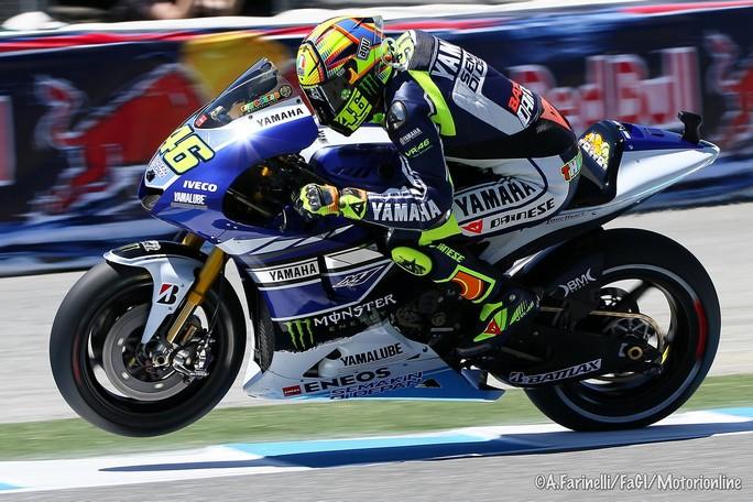 """MotoGP Indianapolis: Valentino Rossi """"Non sono soddisfatto della posizione, ma non è andata male"""""""