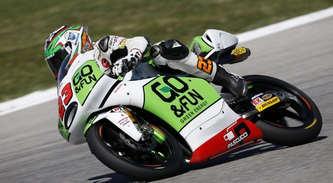 """Moto3: Romano Fenati e Niccolò Antonelli pronti per la """"sfida"""" di Aragon"""