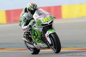 """MotoGP Aragon Alvaro Bautista: """"Sono contento, peccato per la scivolata"""""""
