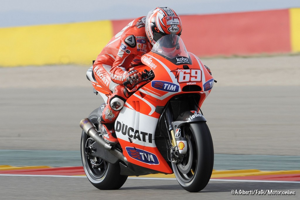 "MotoGP Aragon Nicky Hayden: ""Questa mattina non eravamo così lontani"""