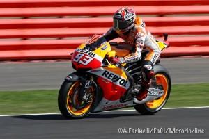 MotoGP Silverstone, Warm Up: Marquez, miglior tempo e sospetta frattura alla clavicola!