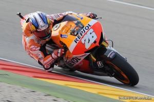 """MotoGP Aragon: Dani Pedrosa """"Sono felice, perché oggi mi sentivo a mio agio in pista"""""""