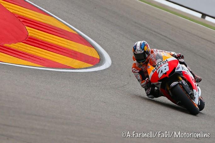 MotoGP Aragon, Prove Libere 4: Pedrosa davanti a Marquez e Crutchlow
