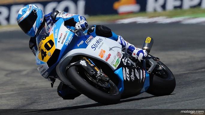 Moto2 Aragon: Roman Ramos, capoclassifica del CEV in sella alla Motobi del Team JiR