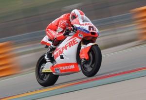 Moto2 Aragon: Nico Terol fa suo anche il Warm Up
