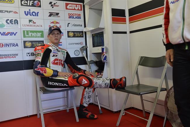 """MotoGP Phillip Island: Stefan Bradl """"Ho provato a scendere in pista ma il dolore è troppo forte"""""""