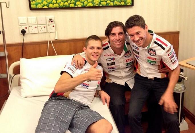 MotoGP Sepang: Stefan Bradl operato con successo