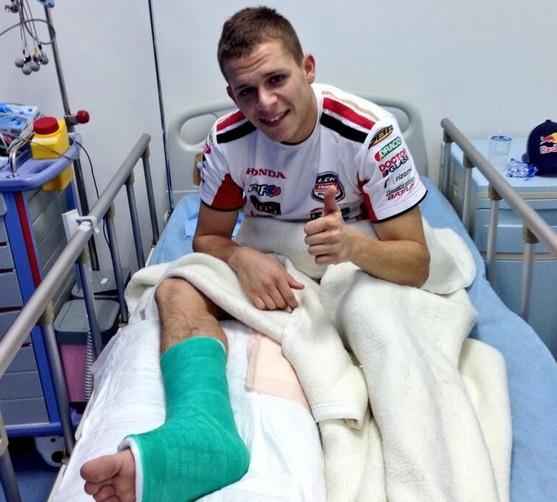 MotoGP Sepang: Stefan Bradl sarà operato al Kuala Lumpur Sports Medicine Centre