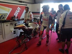 """MotoGP: Stefan Bradl dichiarato """"unfit"""" dopo le FP1 di Phillip Island"""