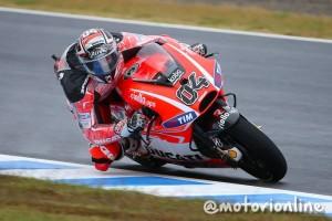 """MotoGP Motegi Qualifiche Andrea Dovizioso: """"Non ero molto a posto"""""""