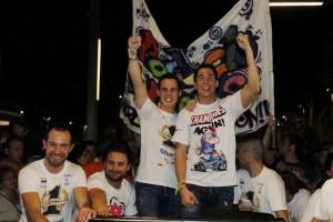 Moto2: Pol Espargarò celebra il suo titolo a Granollers
