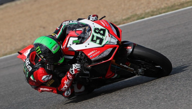 Superbike Spagna: Superpole a Laverty