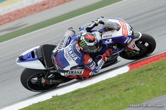 "MotoGP Sepang: Jorge Lorenzo ""Ho un buon passo gara sull'asciutto"""