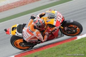 MotoGP Sepang, Prove Libere 4: Marquez al comando davanti a Lorenzo, Rossi è quinto