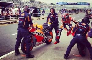 MotoGP Phillip Island, Warm Up: Prove di Flag To Flag, il migliore è Marquez