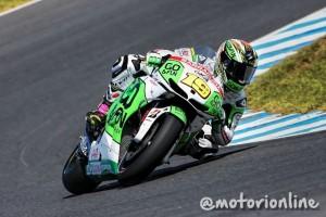"""MotoGP Phillip Island: Alvaro Bautista """"Nonostante la gomma dura ho lottato per il podio fino alla fine"""""""