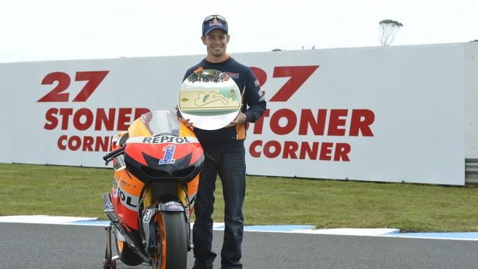 MotoGP: Giro d'onore per Casey Stoner a Phillip Island