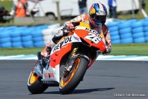 MotoGP Phillip Island, Prove Libere 4: Pedrosa davanti a Lorenzo, Rossi quarto