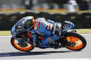 Moto3 Phillip Island: Bellissima battaglia, la spunta Rins su Vinales e Salom