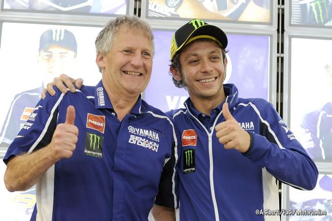 """MotoGP: Jeremy Burgess """"Rossi crede di essere sempre al top, ma Lorenzo con la stessa moto gli dà 4 decimi al giro"""""""