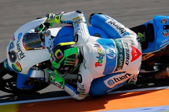 Moto2 Valencia, Prove Libere 3: Pol Espargarò è sempre il più veloce