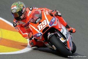 """MotoGP Valencia: Nicky Hayden """"Dobbiamo migliorare la frenata e la percorrenza in curva"""""""