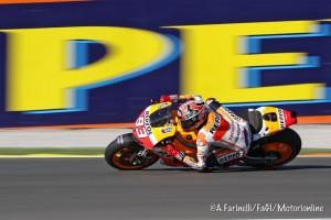MotoGP Valencia: Uno strepitoso Marquez centra la nona pole del 2013
