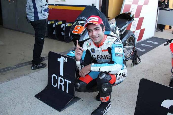 MotoGP Valencia, Qualifiche: Danilo Petrucci primo nella classifica delle CRT