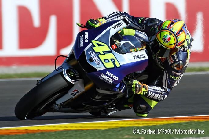 """MotoGP Valencia: Valentino Rossi """"Avrei voluto essere in prima fila"""""""