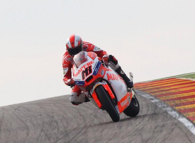 Moto2 Valencia, Warm Up: Terol davanti a Luthi ed Espargarò