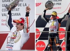 MotoGP: Marc Marquez in Moto2 e MotoGP nel 2014 nel giorno del…….