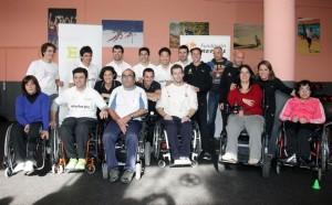 MotoGP: Marc Marquez insieme ad altri sportivi spagnoli promuove lo sport per disabili
