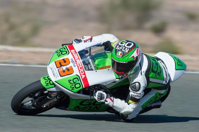 """Moto3: Test Valencia Day 1, Niccolò Antonelli """"Essere davanti a tutti è sempre una bella emozione!"""""""