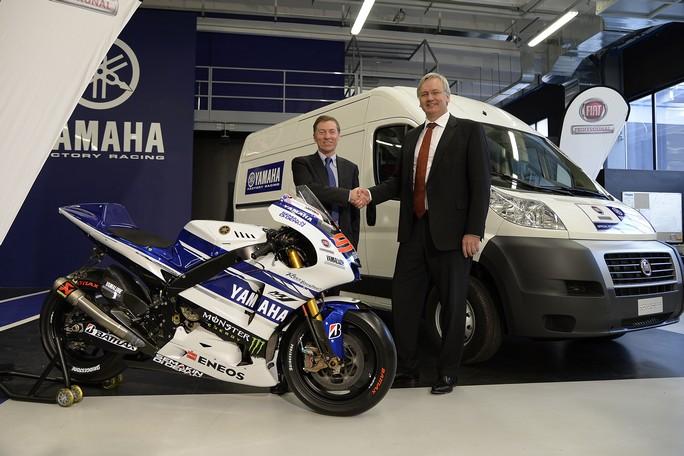 Fiat Professional sponsor della Yamaha MotoGP