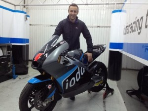 Moto2: Iniziata l'avventura di Randy Krummenacher con lo Iodaracing